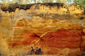 Soil/bedrock cross section